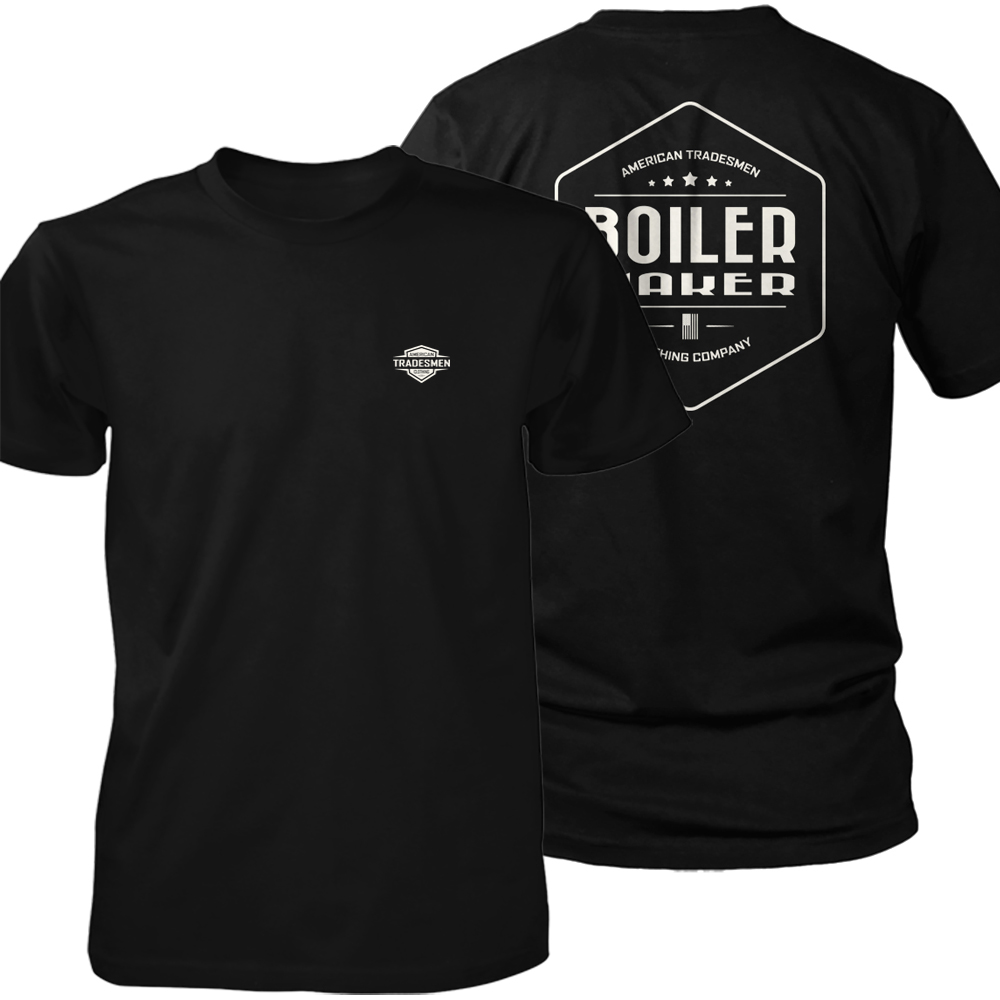 Boilermaker shirt in white