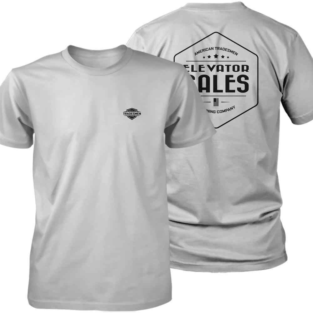 Elevator Sales shirt in black