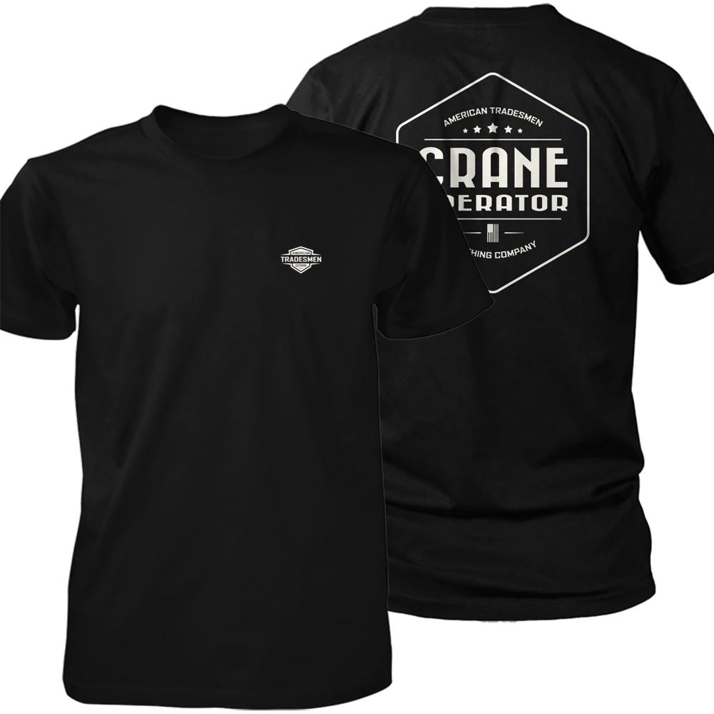 Crane Operator shirt in white