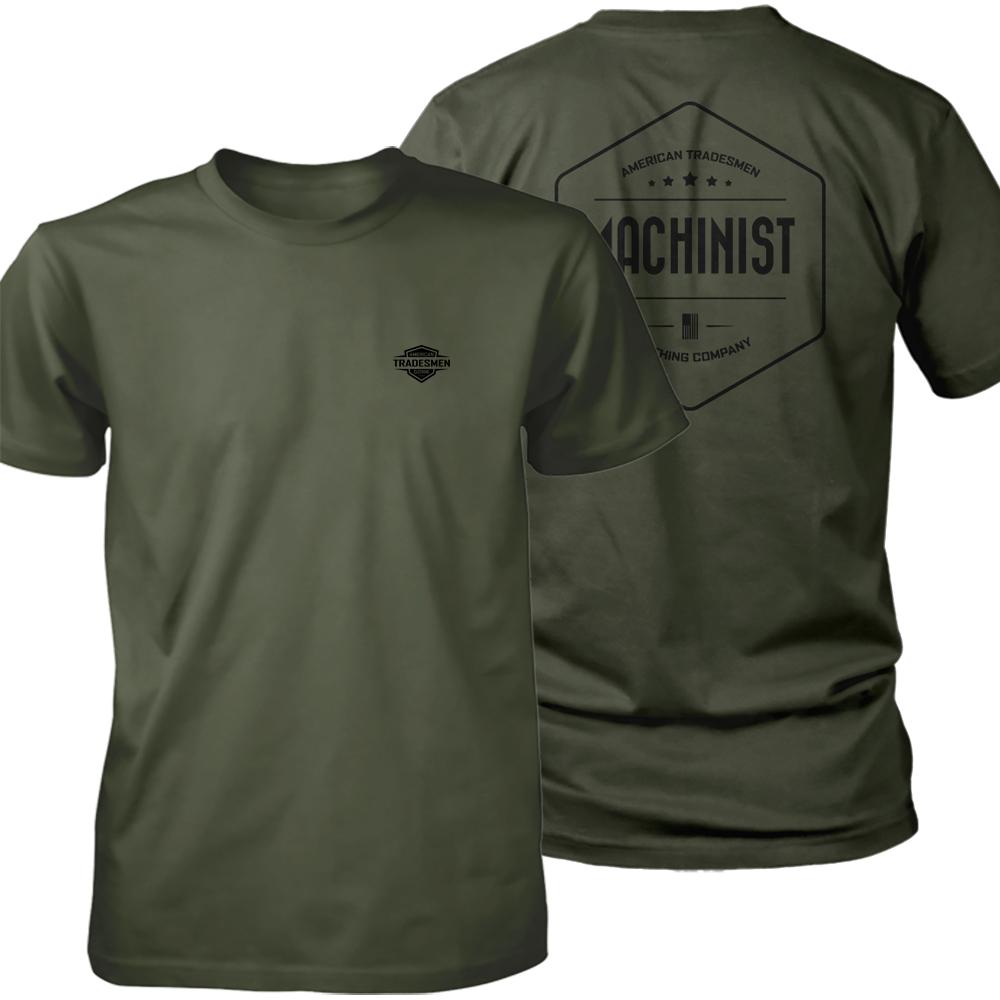 Machinist shirt in black