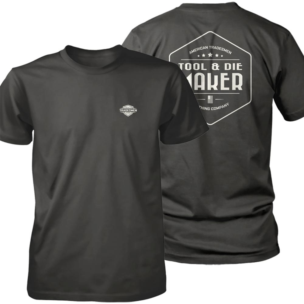 Tool & Die Maker shirt in white