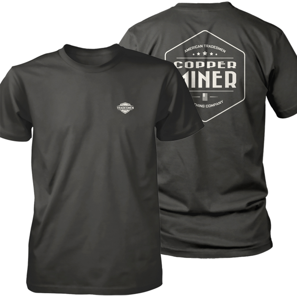 Copper Miner shirt in white