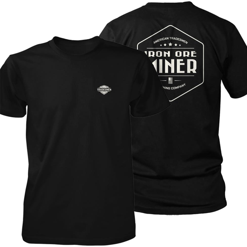 Iron Ore Miner shirt in white