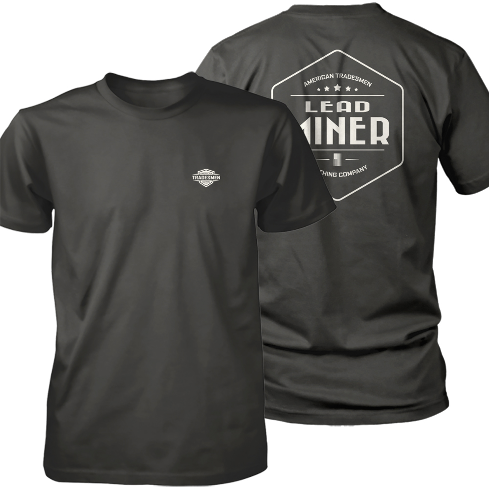 Lead Miner shirt in white